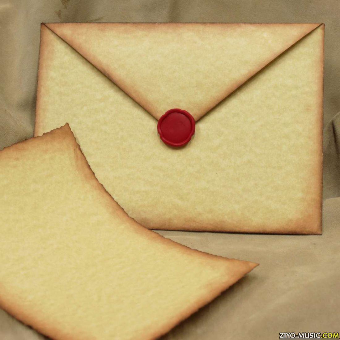 Как сделать красивый конвертик для писем